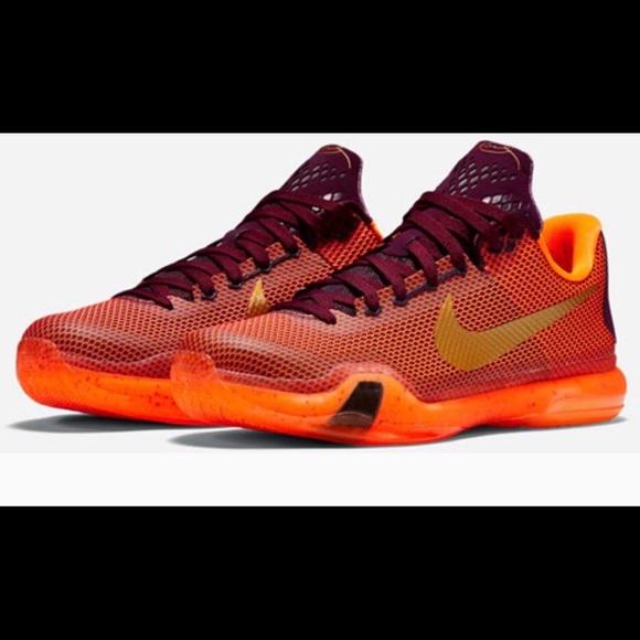 Nike Kobe X Silk Edition Basketball Shoes Size 8.5